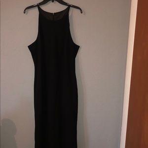 Calvin Klein High Neck Gown